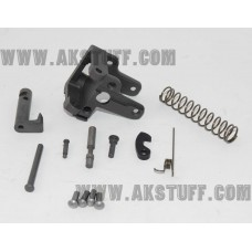 AK side folding rear trunnion set with 5.5mm hinge