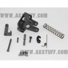 AK side folding rear trunnion set with 5.5mm hinge