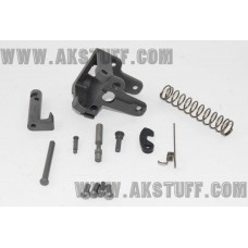 AK side folding rear trunnion set