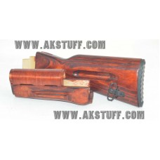 Izhmash Red AK-74 Stock set by Siberian Customs (Made in USA)